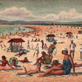 Анапа. Пляж, 1930-е