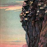 "Анапа. ""Скала Гигант"", около 1933 года"