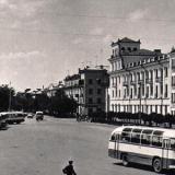 Армавир. Привокзальная площадь, 1969 год