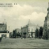 Ст. Армавир №4. Почтовая улица и часовня, 1917 год