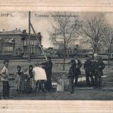 Армавир. Уличная парикмахерская, до 1917 года