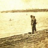 Ейск. Бычковский мост, около 1911 года