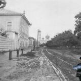 Ейск. Перекресток нынешних улиц Карла Маркса (четная строна) и Ростовская, около 1910 года