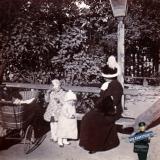 Ейск. На бульваре, около 1911 года