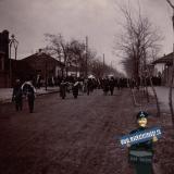Ейск. Похоронная процессия, 1914 год