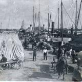 Ейск. Ейский морской порт, около 1920 года