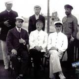 Ейск. Команда парохода прибывшегов Ейск, около 1910 года