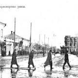 Ейск. Улица Черноморская. 1913 год.