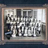 Ейск. Воспитаницы Ксенинской гимназии, около 1910 года