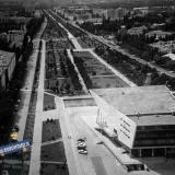 """Краснодар. Вид от кинотеатра """"Аврора"""" на юг"""