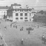 Краснодар. Автопавильон на улице Гоголя около Нового рынка