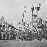 Екатеринодар. Закладка памятника Императрицы Екатерины II. 9 сентября 1896 год.