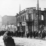 Красная улица - перекресток с Карасунской