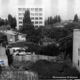 1980 год. Снос зданий по ул. Орджоникидзе (между ул. Красной и Рашпилевской)