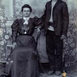 Екатеринодар. Акилина Алексеевна Каменева и Степан Петрович Мачуга, 1903 год