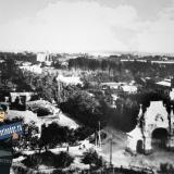 Екатеринодар. Вид с Екатерининского собора на перекрёсток улиц Котляревской и Екатерининской.