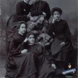 Екатеринодар. Гимназистки, 1908 год