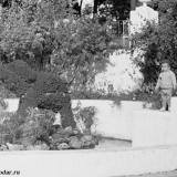 Краснодар. Городской парк им. М. Горького, 1967 год. Цветочный слоник