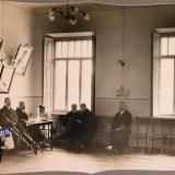 Екатеринодар. Группа раненых воинов в приемной лазарета общины, 1915 год