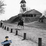 Екатеринодар. Казачий пост на берегу Кубани. 1909 год.