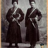 Екатеринодар. Казаки 1-го Урупского полка. Фотограф Савенко А.И.