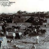1923 год. Работы по засыпке Карасуна, май-декабрь.