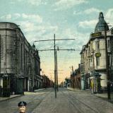Екатеринодар. Красная улица и Зимний театр, вид на север