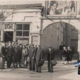 """Краснодар. Вход в кинотеатр """"Кубань"""", 1954 год."""