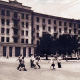 """Краснодар. Гостиница """"МИР"""" (""""Центральная"""") конец 50-х годов."""