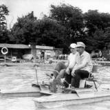 Краснодар. В парке им.40-летия Октября на ул.К.Либкнехта, 1984 г.