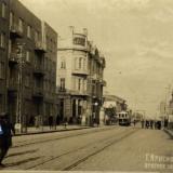 Красная улица - перекресток с Мира (вид на север)
