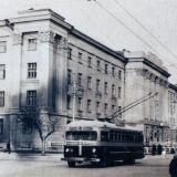 Краснодар. Нефтяной техникум. 50-е годы