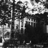 Краснодар. Краснодарский пединститут, здание на ул. Октябрьской № 21, 1952 год.