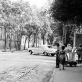 Краснодар. Перекрёсток улиц Коммунаров и Ворошилова. 1978 год.