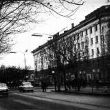 Краснодар. Перекрёсток улиц Красной и Ленина. 1966 год.