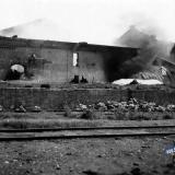 Краснодар. Разрушенные строения Маслозавода №2, осень 1942 год.