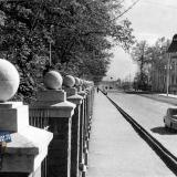 Краснодар.  Реконструированная улица Захарова. 1951 год.