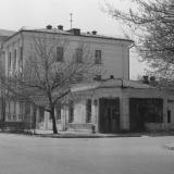 Краснодар. Угол улиц Октябрьской и Орджоникижзе, 1977 год, вид на юго-запад