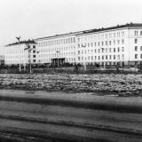 Краснодар. Улица Калинина у Сельхозинститута, 24 января 1968 год.