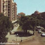 Краснодар. Улица Мира и Красная. 1975 год.