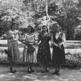 Краснодар. В Горпарке, 9 мая 1954 года. Фото 3.