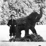 Краснодар. В парке Горького, 1962 год.
