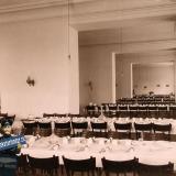 Екатеринодар. Кубанский мариинский женский институт. 25.10.1913 год. Вид части столовой института.