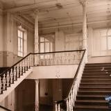 Екатеринодар. Кубанский мариинский женский институт. 25.10.1913 год. Вид лестницы, ведущей на 3-й этаж института.
