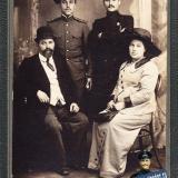 Екатеринодар. Леонид и Георгий Грабовые с родителями. 12/9 1914 года.