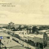 Екатеринодар. Общий вид города, вид на северо-восток
