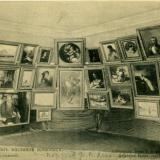 Общий вид картин масляной живописи. Фотограф И.А. Сумовский
