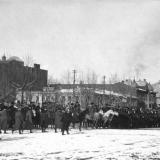 "Екатеринодар. Парад ""Корниловского полка"", 21 января 1920 года.Фото 4"