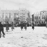 "Екатеринодар. Парад ""Корниловского полка"", 21 января 1920 года. Фото 3"