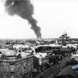Екатеринодар. Пожар на Карасуне.